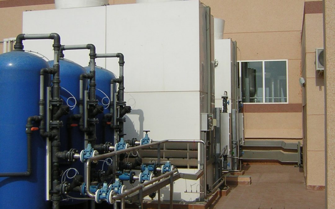 Evaporative cooling: applications in the industrial sector