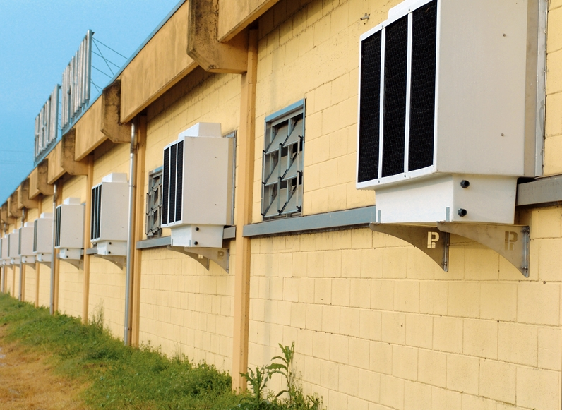 Advantages of evaporative cooling