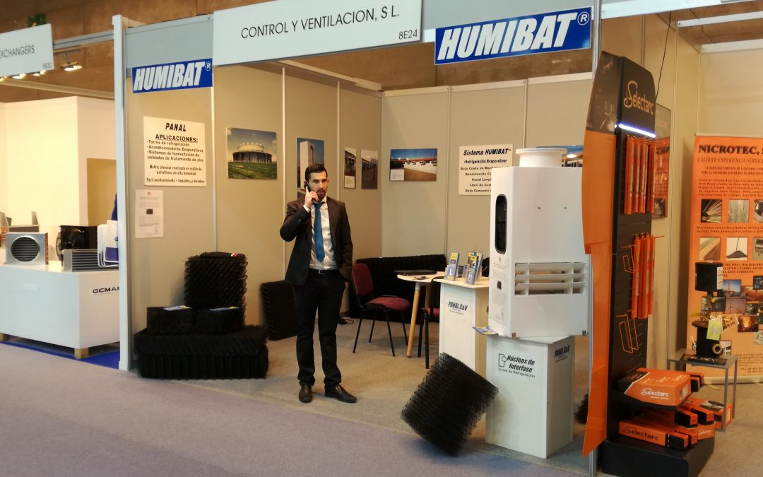 Some 700 companies in the largest exhibition of air conditioning and refrigeration