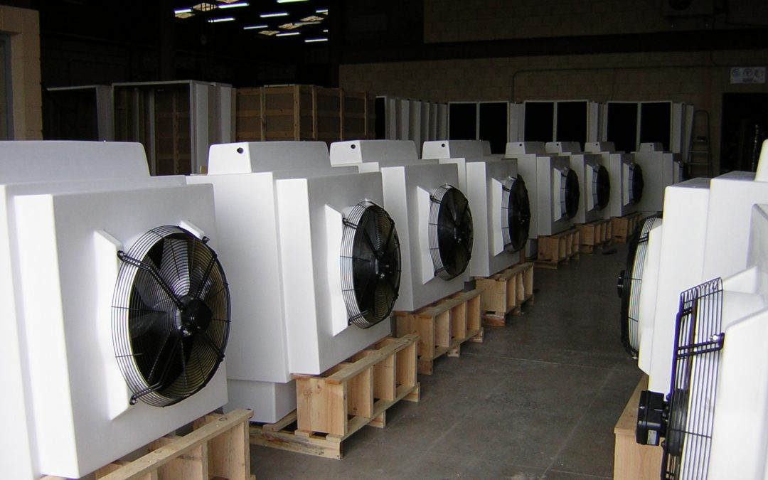 Evaporative cooling: sustainable construction and rehabilitation